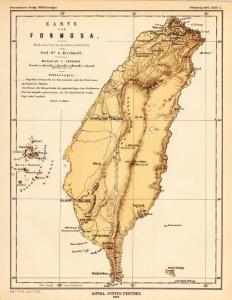 Karte von Formosa