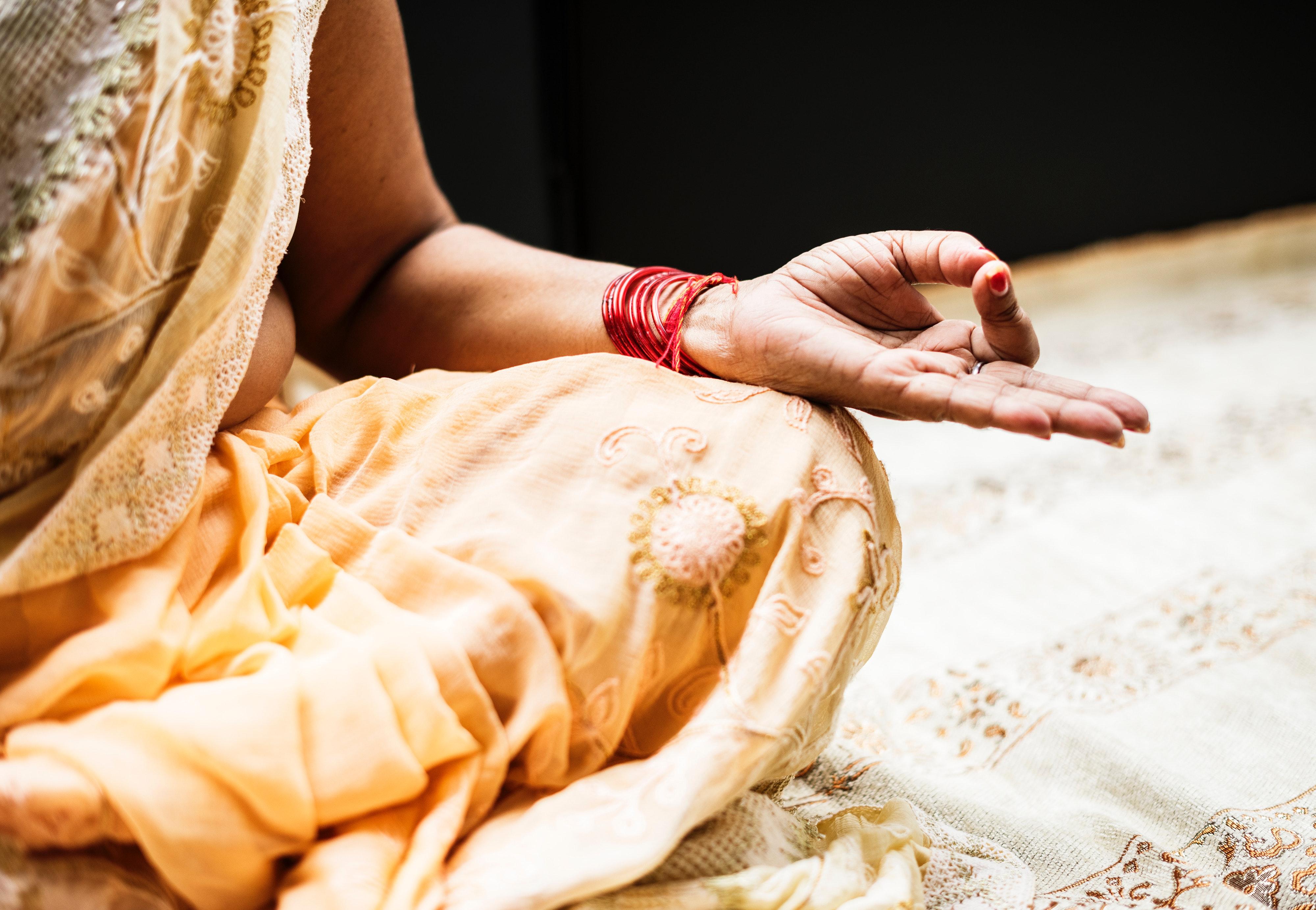 Hindu meditation