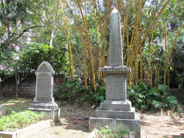 George Leslie and Minnie Mackay tombs
