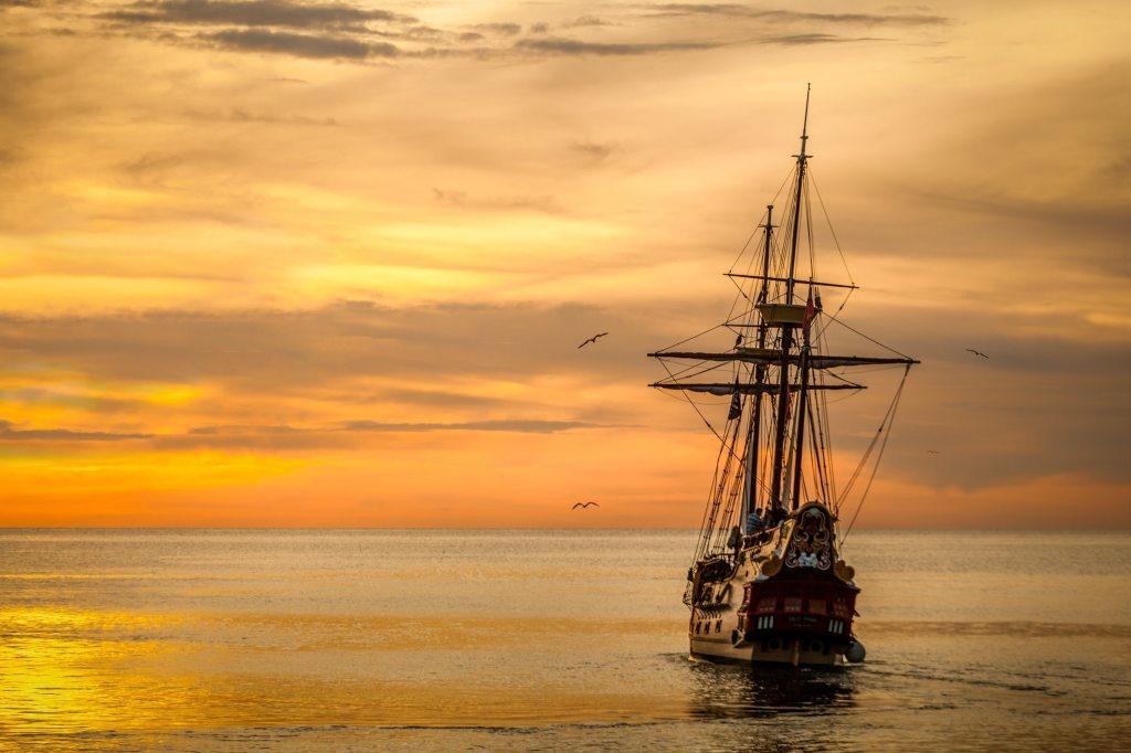 European sailing ship